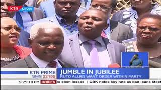 DP Ruto's Mount Kenya allies call for order in the jubilee party
