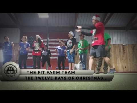 The 12 Days of Christmas Workout Song (Parody) at Fit Farm!