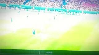 Gol na 1-0 meczu Francja-Islandia