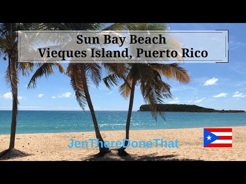 Repeat Vieques Island Sun Bay Beach | Explore Puerto Rico | Secluded