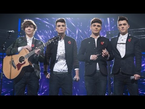 Union J sings Coldplay's Fix You - Live Week 6 - The X Factor UK 2012