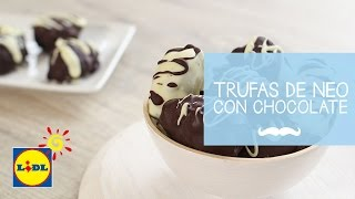 Trufas de Neo con Chocolate - Lidl Día Del Padre