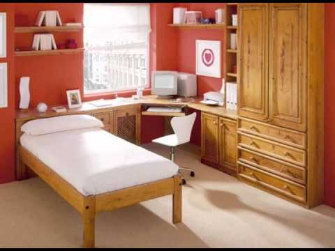 dormitorios juveniles rusticos en madera