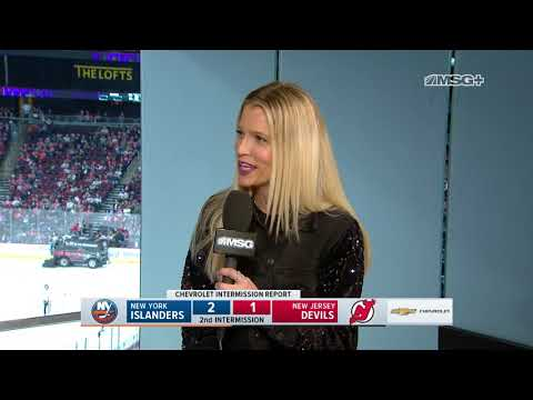 Lauren Boyle on Being a Hockey Fights Cancer Ambassador | New Jersey Devils | MSG Networks