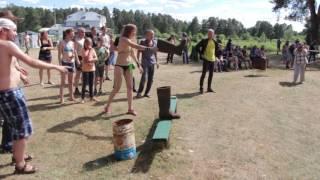 Смерть от валенка (топлесс)(Смешной момент с конкурса на фестивале Metal Balls 2016., 2016-06-29T09:56:57.000Z)