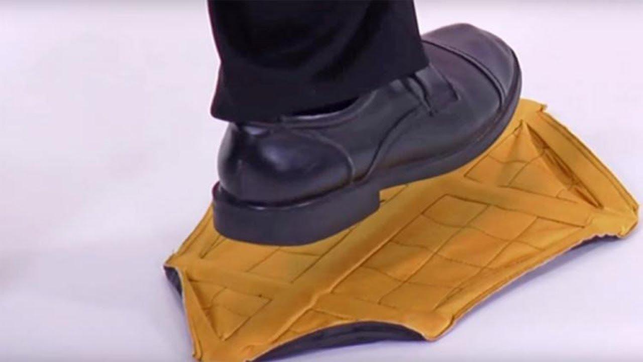 b352b5650b3 Step In Sock Shoe Covers - YouTube