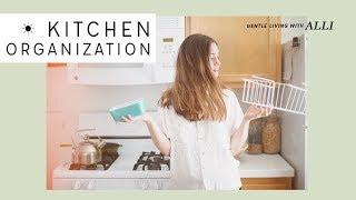 Thrift Haul! Thrifted Kitchen Organization | Alli Cherry