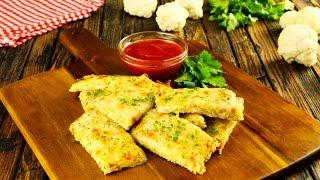 Blumenkohl-Käse Snacks: Ein Rezept vom Blech