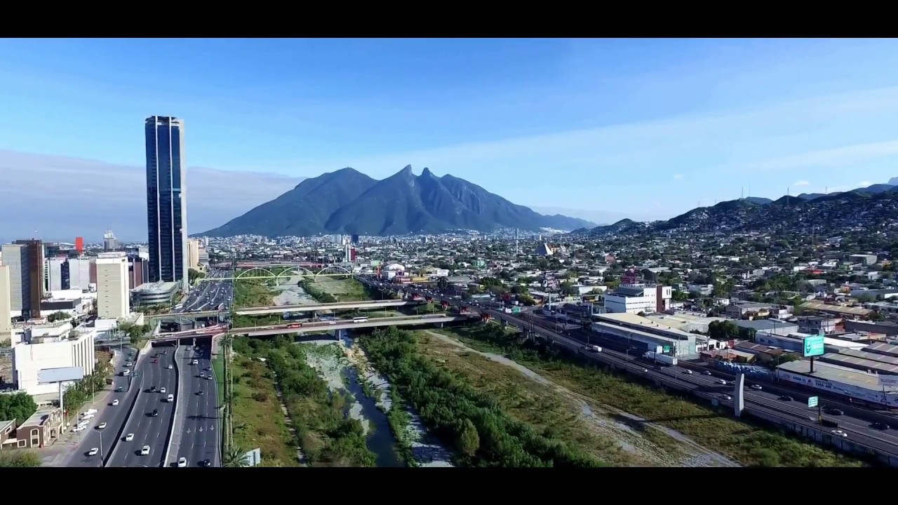 Monterrey Drone View - YouTube