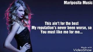 "Taylor Swift - ""Delicate"" Lyrics"
