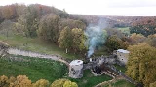 Découverte Aérienne du Château de Lafauche en Haute-Marne