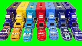 Тачки Грузовики Трейлеры Гонщики Распаковка Посылки Новые Игрушки Мультики про Машинки