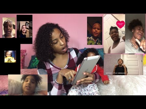 Reacting To My Fans Singing My Intro!!|...