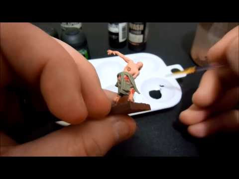How To Ink Wash a Miniature