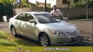 Nando Cunha - Autogiro / Test Drive Toyota Camry  c/ André Massaro ( 2008 )