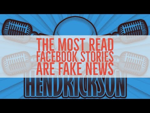 The Most Popular Facebook News Stories Of The Past Year Are All Fake News