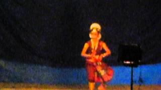 6 year old girl performing.. shivadam shivanamam
