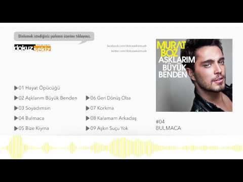 Murat Boz - Bulmaca (Official Audio)