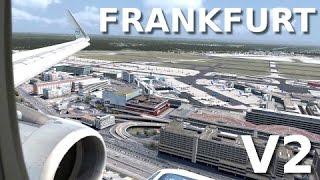 [FSX] FRANKFURT V2 (NEW SCENERY!!) - FIRST LANDING