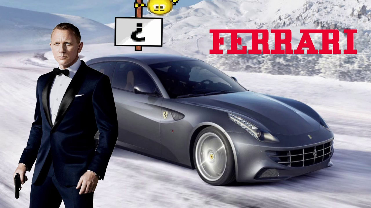 Ferrari To Replace Aston Martin In James Bond Youtube