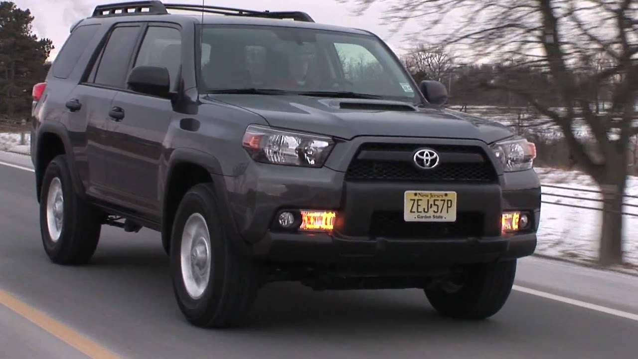 2010 toyota 4runner trail 4x4 v6 drive time review testdrivenow youtube. Black Bedroom Furniture Sets. Home Design Ideas