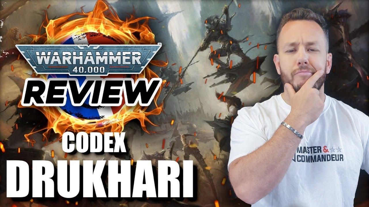 Download REVIEW CODEX DRUKHARI (Avec P.Kstor & Zeka) Warhammer 40.000