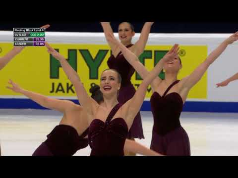 CAN) TEAM NEXXICE - SP / World Synchronized Championships 2018