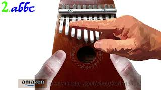 How to Play All Through the Night on a Kalimba with Ten Keys