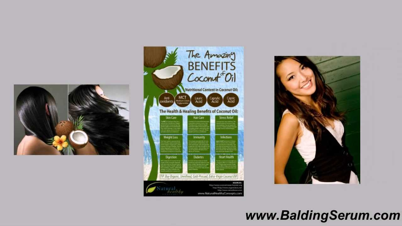 Natural remedies for hair loss coconut oil