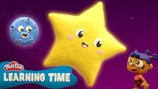 Play Doh Videos | Twinkle Twinkle Little Star ✨ Play-Doh Learning Time Nursery Rhymes