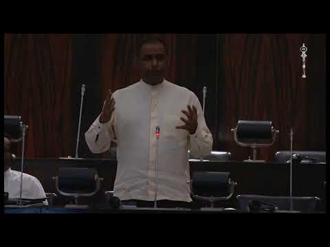 பிரதி அமைச்சர் எச்.எம்.எம். ஹரீஸ் பாராளுமன்றத்தில் ஆற்றி உரை Video