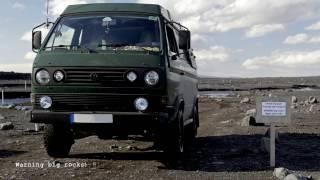 Island - Fahrt zur Holuhraun
