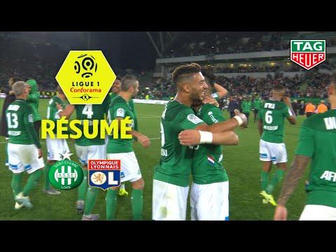 AS Saint-Etienne - Olympique Lyonnais ( 1-0 ) - Résumé - (ASSE - OL) / 2019-20