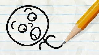the pencil vs pencilmate classic pencilmation compilation cartoons for children
