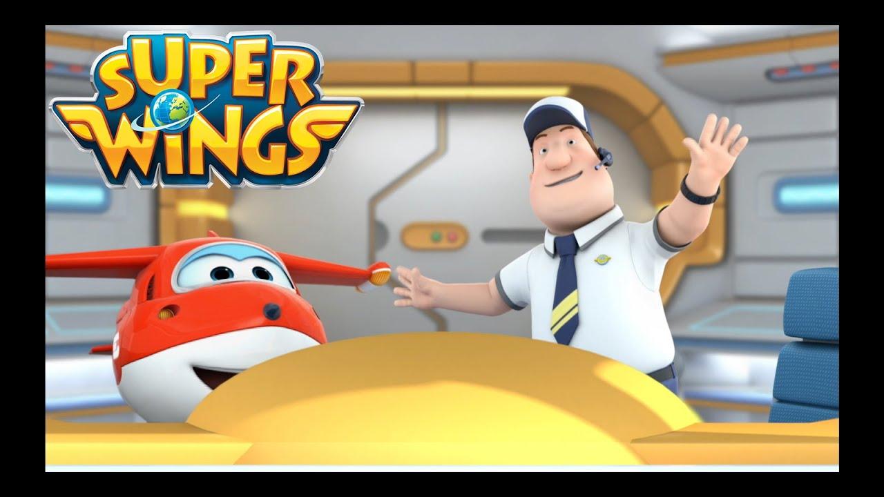 Super Wings Français épisode 1 Un Cerf Volant Pour Deux Youtube