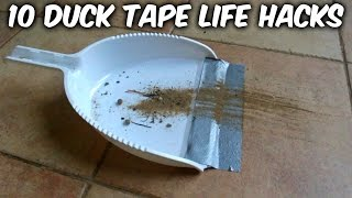 10 Duck Tape Life Hacks