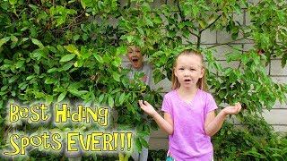 Last To Be Found Wins Ice Cream! Best Hiding Spots Ever Extreme Hide and Seek!