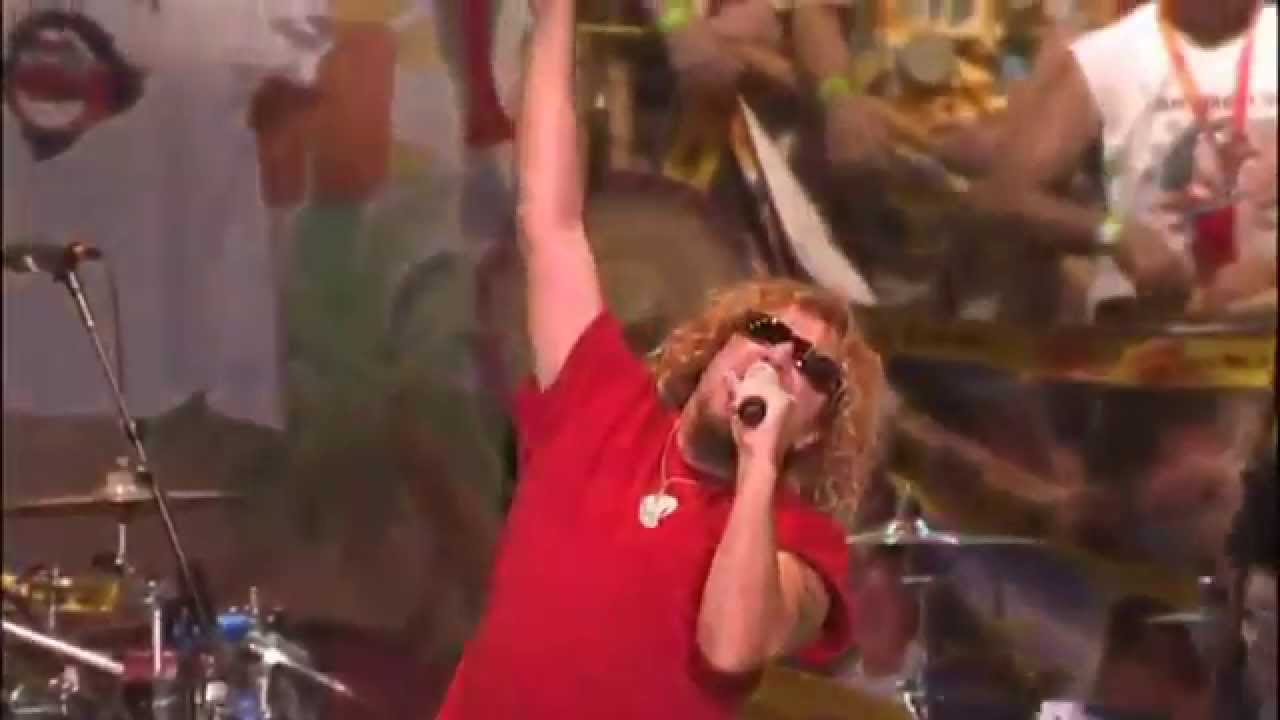 sammy hagar the wabos mas tequila intro from livin 39 it up live in st louis youtube. Black Bedroom Furniture Sets. Home Design Ideas