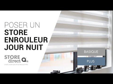 Comment Poser Un Store Enrouleur Jour Nuit Basique Store