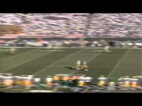 Oregon CB Muhammad Oliver tips away a deep pass vs. UCLA 11-16-1991