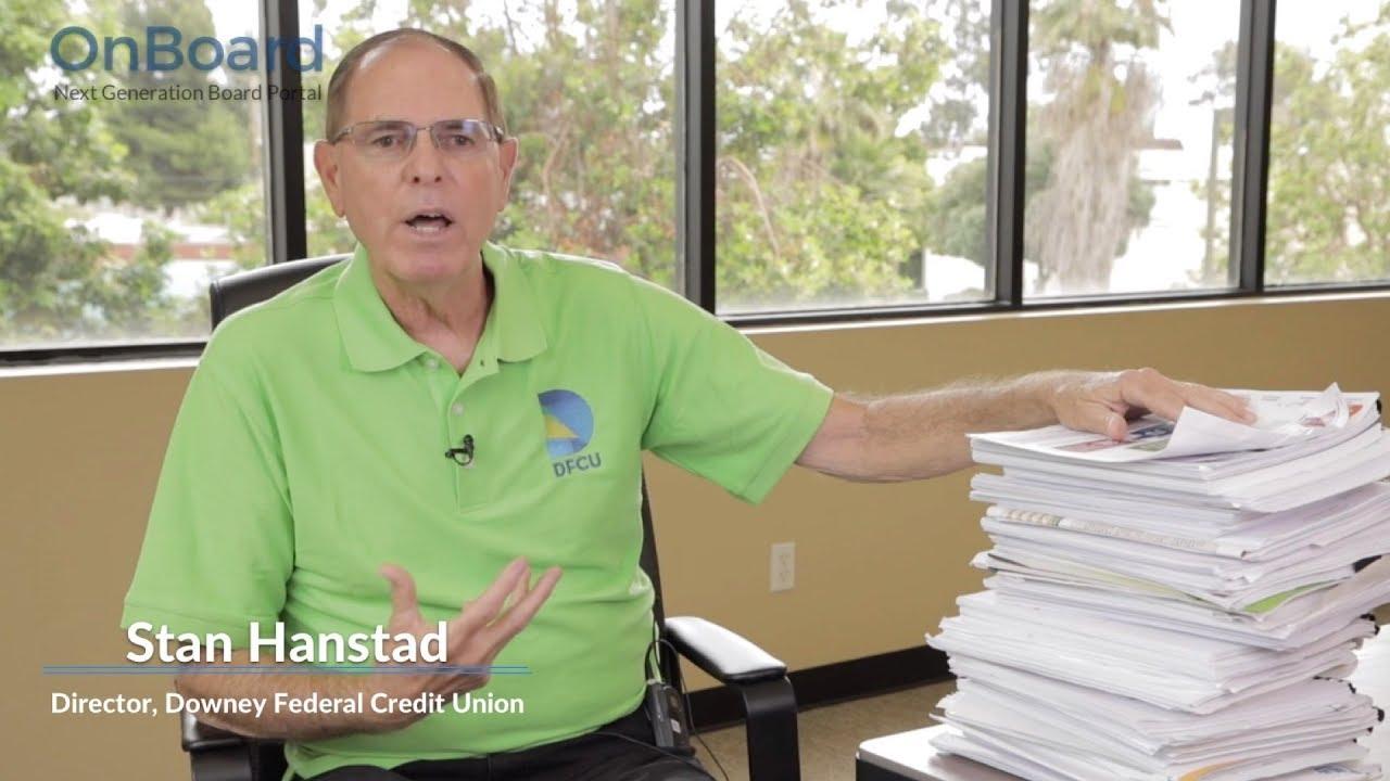 Stan Hanstad – Board Director:OnBoard Elementals Paper and Drives Better Meetings
