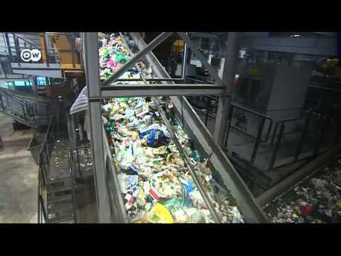 Как утилизируют мусор в европе