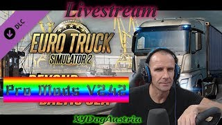 Euro Truck Simulator 2**Pro Mods V2.42 Drive** Livestream Gameplay + Facecam 1080p50