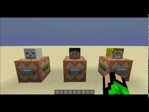 MinecraftVanilla Spielerköpfe Bekommen Tutorial YouTube - Minecraft spielerkopfe erstellen