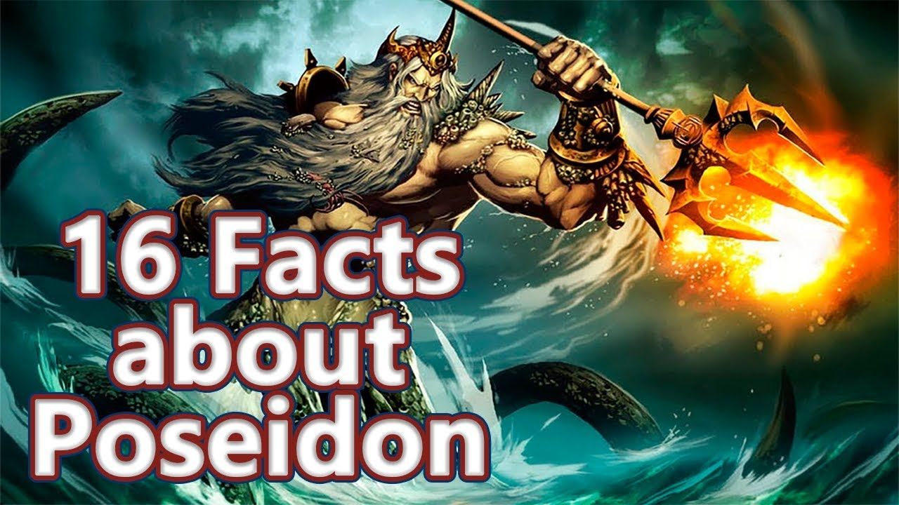 16 Facts About Poseidon The God Of The Sea Mythological Curiosities 03 See U In History