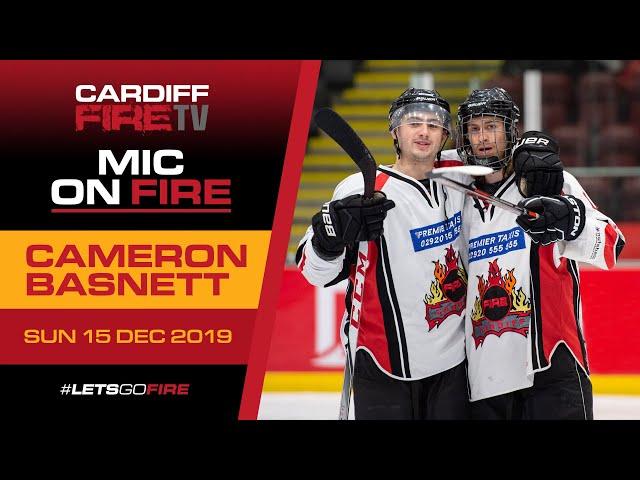Mic on Fire: #14 Cameron Basnett 🏒🎤🔥
