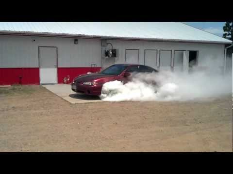 Grand Prix GTP Burnout Contest At Eagle Valley Speedway