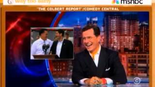 Colbert on Paul Ryan as Romney's VP