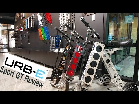 My Experience After Testing The URB-E Sport GT For A Week @urberides