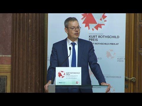 """Kurt Rothschild Preis 2016: Peter Bofinger """"Aktuelle Wirtschaftspolitik der Europäischen Union"""""""